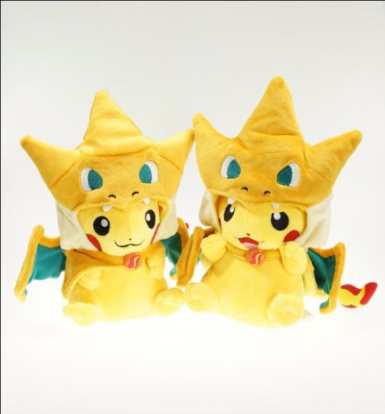 Par deux, c'est mieux ! En quel Pokémon ces Pikachu se sont-ils déguisés ?