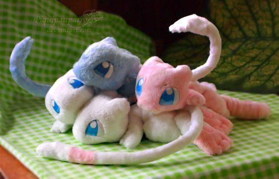 Pokémon kawaï en peluches
