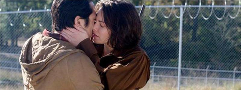 Glenn a décidé de demander Maggie en mariage. Où a-t-il trouvé la bague ?