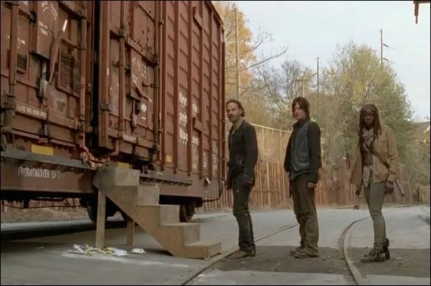 Arrivé au sanctuaire, pourquoi Rick ne leur fait-il pas confiance directement ?