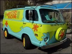 De quel dessin animé vient cette camionnette ?