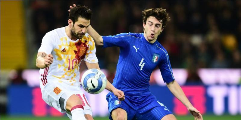 Quel est le score du match opposant l'Italie à l'Espagne ?