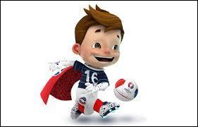 Comment s'appelle la mascotte officielle de l'Euro 2016 ?