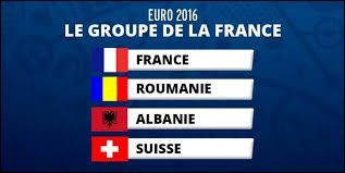 La France fait partie du groupe...