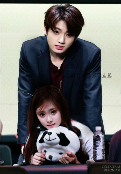 De quelle origine la fiancée de Jungkook, Tzuyu, est-elle ?