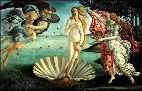 """Art : Qui a peint le tableau appelé """"La Naissance de Vénus"""" ?"""