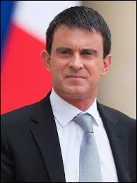 Politique : De quoi Manuel Valls était-il ministre avant d'être nommé Premier ministre en 2014 par le Président de la République ?