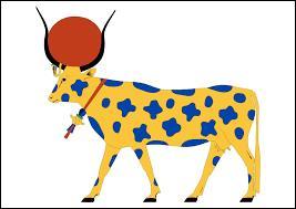 Mythologie : Dans la mythologie égyptienne, comment s'appelle la déesse égyptienne qui peut être représentée par une vache ?