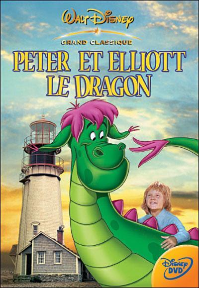 """Dans """"Peter et Eliott"""", qui est le dragon ?"""
