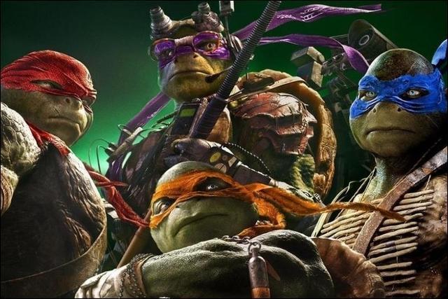 les prenoms des tortues ninja