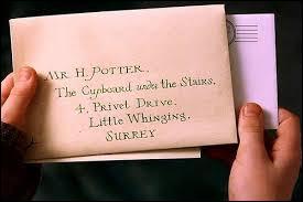 À quel âge Harry reçoit-il sa lettre ? (Il a pu la lire.)