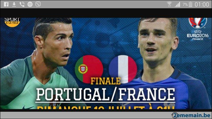 Combien de millions de spectateurs français ont suivi la finale France - Portugal dimanche soir ?