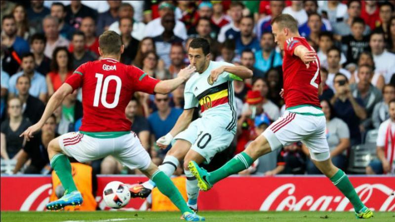 Second match des quarts de finale : le pays de Galles-Belgique. À vous de trouver le score !