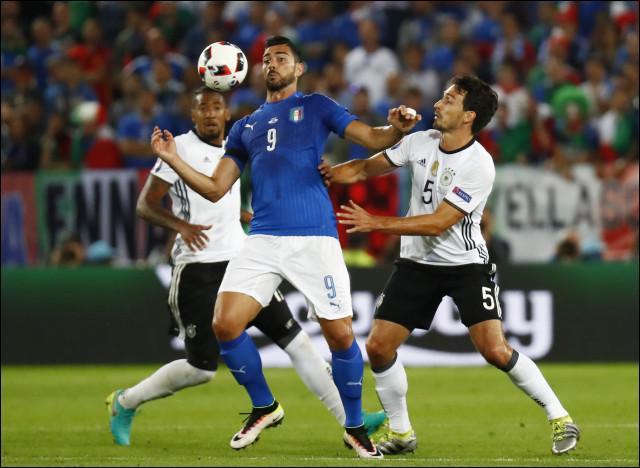 Match n°3 des quarts de finale : Allemagne-Italie.