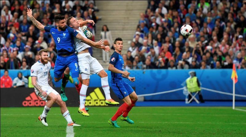 Dernier match des quarts de finale : France-Islande. Ce fut un très beau match mais lequel l'a remporté ?