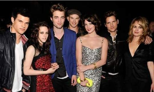 Acteurs de la saga Twilight