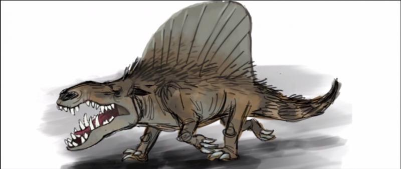 Ce reptile à voile a-t-il réellement existé ?