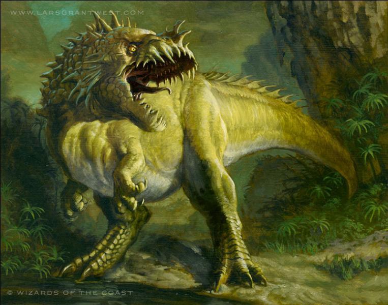 Grands dinosaures théropodes : pour les 6 dinosaures qui vont suivre 3 d'entre eux ont réellement existé, les 3 autres sont imaginaires.Ce dinosaure a-t-il réellement existé ?