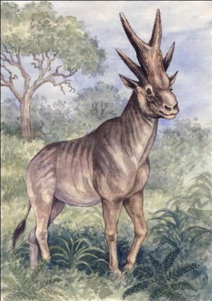 Mammifères préhistoriques : pour les 8 mammifères qui vont suivre 4 d'entres eux ont réellement existé, les 4 autres sont imaginaires. Ce mammifère a-t-il réellement existé ?