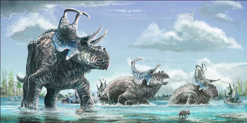 Ce dinosaure à cornes a-t-il réellement existé ?