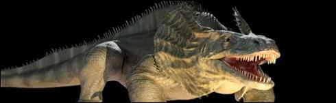 Reptiles à voile : pour les 6 reptiles qui vont suivre 3 d'entre eux ont réellement existé, les 3 autres sont imaginaires.Ce reptile à voile a-t-il réellement existé ?