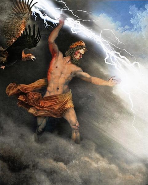 Quel arbre est associé à Zeus ?