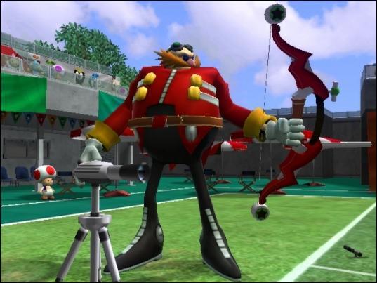 Le grand ennemi de Sonic se nomme :