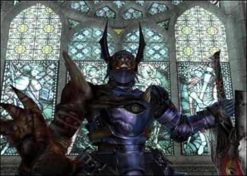 Il vient de Soul Calibur, il vient tout détruire avec son épée Soul Edge, c'est ...