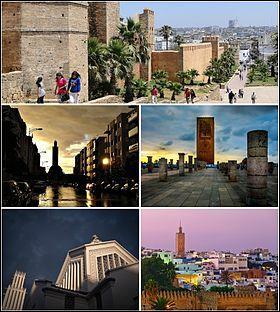 Où se situe Rabat ?