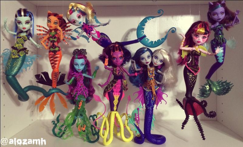 """Le dernier film """"Monster High"""" s'appelle..."""