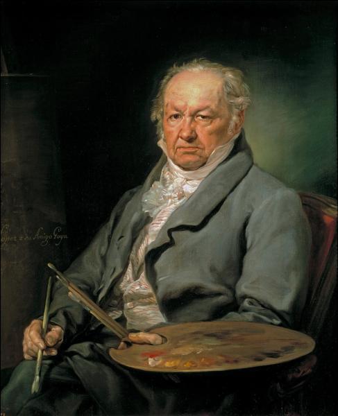 Qu'a peint Goya ?