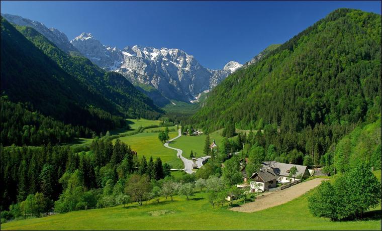 Dans quel pays pourrez-vous aller skier dans les Alpes juliennes ?