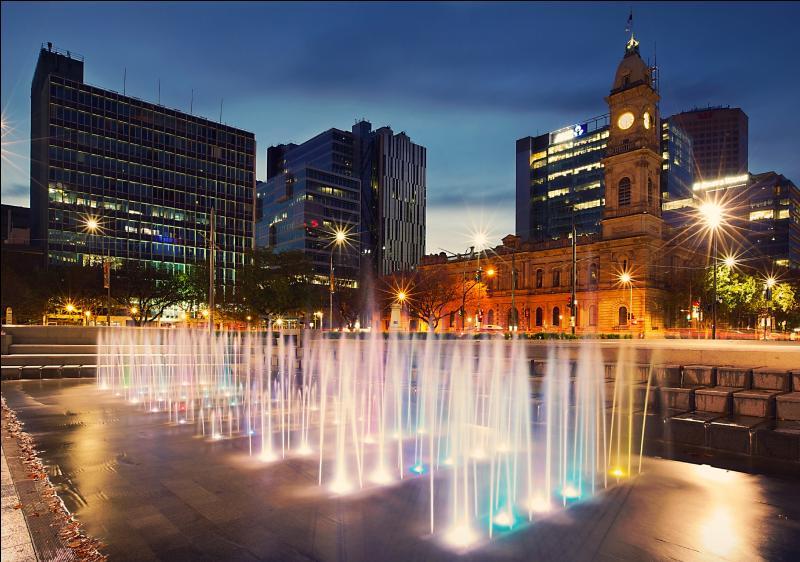 De quel État australien la ville d'Adélaïde est-elle la capitale ?