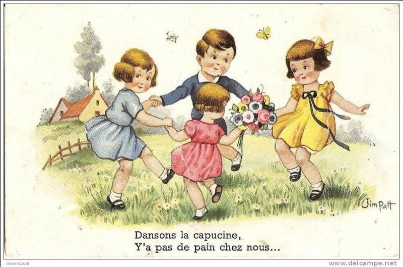 """""""Dansons la capucine"""". Qu'y a-t-il chez nous ?"""