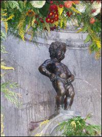 Dans quelle ville de Belgique peut-on admirer cette célèbre statue ?