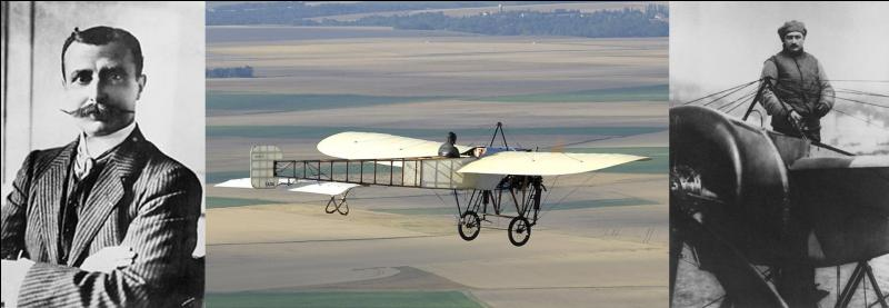 Il se voit attribuer la première licence de vol délivrée en France. C'est le premier à avoir réussi une traversée de 37 minutes. Par la suite, il abandonnera le pilotage pour se consacrer à la fabrication et la vente de ses avions.Quel est ce pilote ?