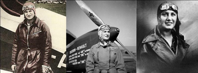 Elle décédera jeune, à 26 ans dans un accident d'avion. Pendant sa courte carrière (2 ans), elle devint une pilote émérite en battant plusieurs records et en réalisant une première, la liaison Paris – Saigon.Qui est cette pilote ?