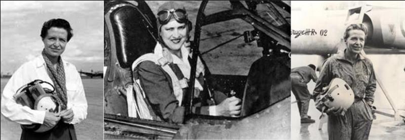 Elle a été la belle-fille d'un président de la République et une pilote d'essai. Elle sera la seule femme à être pilote d'essai sur Concorde !Quelle est cette femme ?