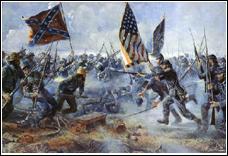 XIXe siècle - Quelle guerre a débuté en 1861 ?