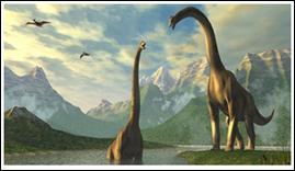 Le commencement - Il y a environ 220 - 230 millions d'années, apparaissaient, les premiers...