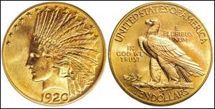 Quand les premières pièces d'or sont-elles apparues ?