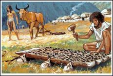 La préhistoire (2) - Il y a 7000 ans av. J.-C., l'homme inventé...