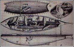 XVIIe siècle - Qu'est-ce qui fut testé, avec succès, par un scientifique néerlandais sur la tamise ?