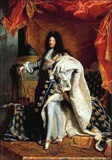 """Quel peintre portraitiste né à Perpignan en 1659 a réalisé cette toile intitulée """"Portrait de Louis XIV en costume de sacre"""", en 1701 ?"""