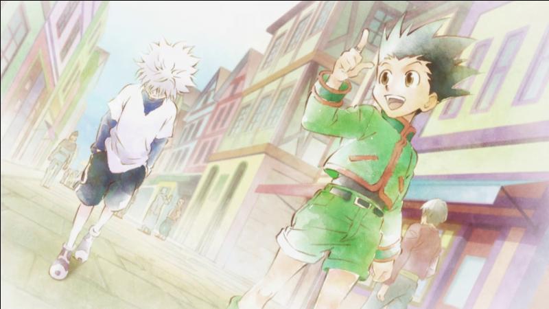 Pendant la première épreuve de l'examen des Hunter, Kirua dit à Gon qu'il est cool, pourquoi ?