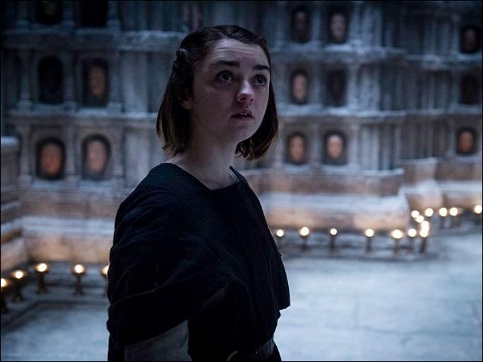 Arya Stark est personne jusqu'à la fin de la série.
