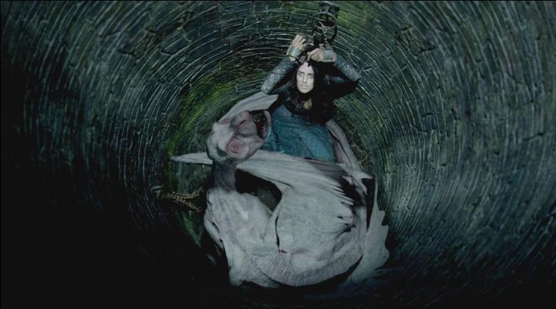 Combien de temps Morgane est-elle restée dans le puits ?