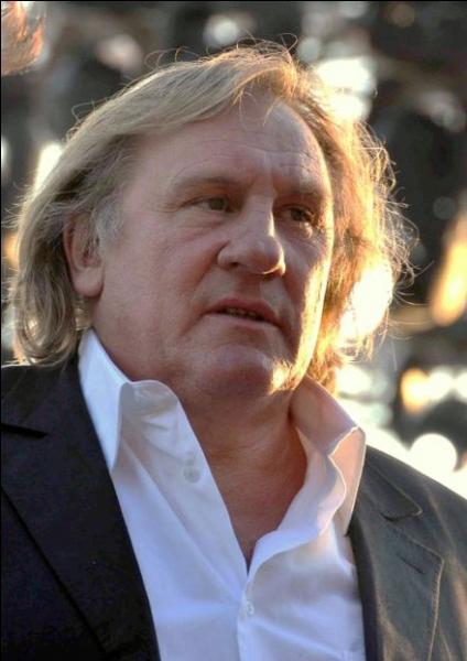 Gérard Depardieu a la nationalité française et la nationalité...