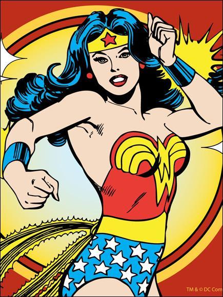 Qui est cette super-héroïne d'acier ?