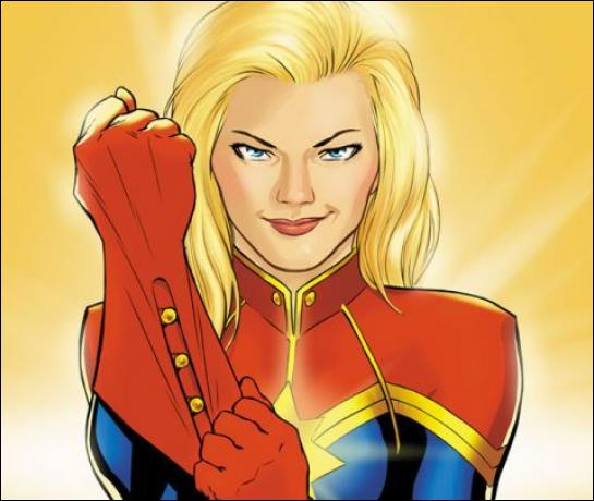 Qui est cette super-héroïne mascotte de son équipe ?